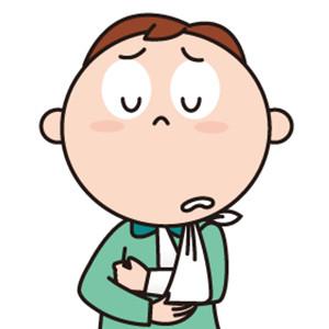 骨折で入院した場合の入院慰謝料