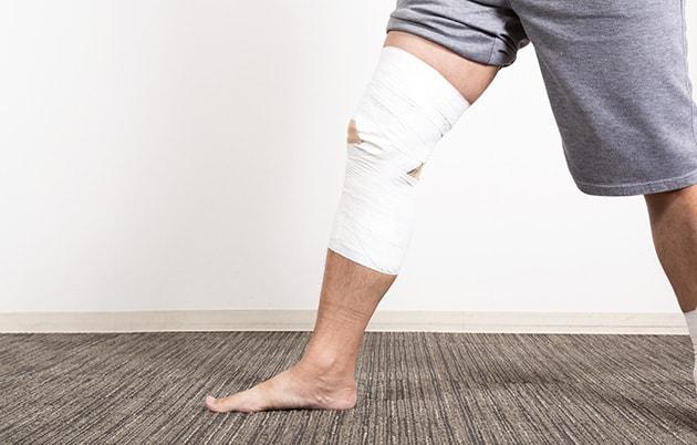 右足高原骨折の増額事例