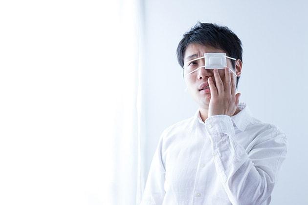 片目失明の増額事例